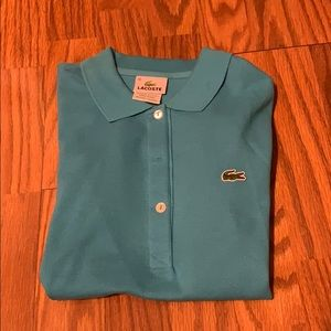 Lacoste Light Blue Polo.